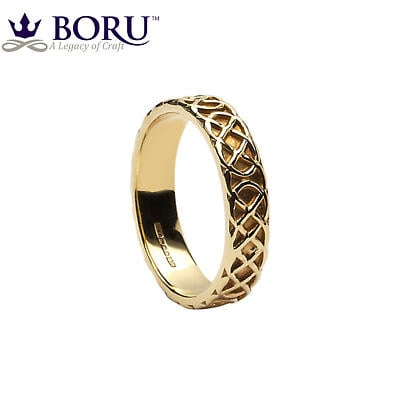 Celtic Ring - Ladies Celtic Knot Wedding Ring