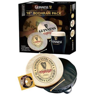 """Bodhran Drum - 18"""" Guinness Oval Bodhran Package"""