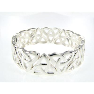 Celtic Bracelet - Trinity Knot Stretch Bracelet