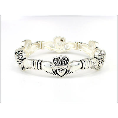 Claddagh Stretch Bracelet