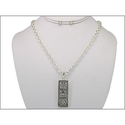 Irish Necklace - Shamrock, Claddagh and Trinity Necklace