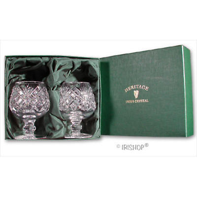 Irish Crystal - Heritage Irish Crystal Brandy Glasses (Pair)