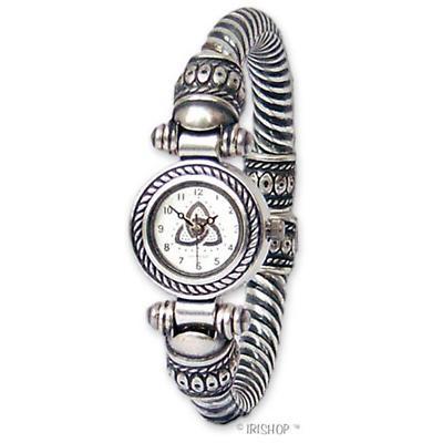 Celtic Watch - 'Brigit' Trinity Knot Bracelet Watch