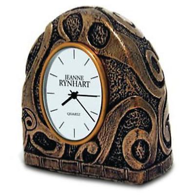 Rynhart Bronze Clock - Turoe Clock by Jeanne Rynhart