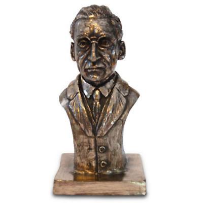 Rynhart Bronze Sculpture - Eamon de Valera Bust by Jeanne Rynhart