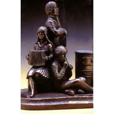 Rynhart Bronze Sculpture - Ballad Session Sculpture by Jeanne Rynhart