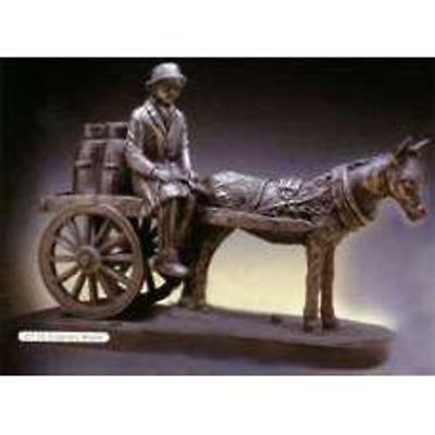 Rynhart Bronze Sculpture - Creamery Bound Sculpture by Jeanne Rynhart