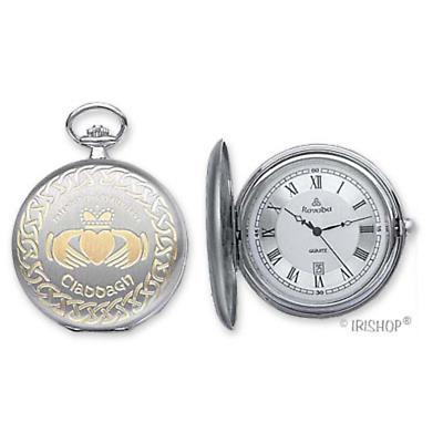 'Cuchulainn' Claddagh Pocket Watch