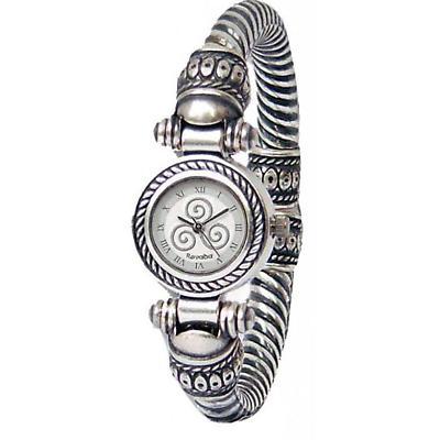 Celtic Watch - 'Divona' Celtic Spirals Bracelet Watch