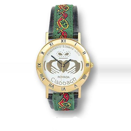 Men's 'Oisin' Claddagh Watch