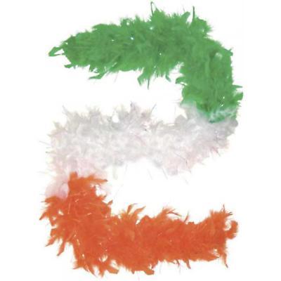 Tri Color Feather Boa