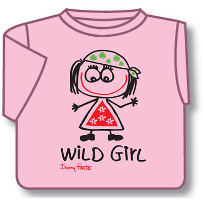 Kids T-Shirts: Kids T-Shirts: Wild Girl Toddler T-Shirt