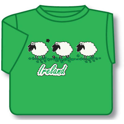 Kids Ireland 3 Sheep T-Shirt