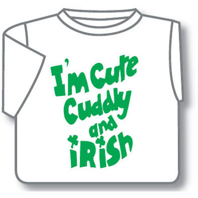 Kids T-Shirts: Kids T-Shirts: Cute Cuddly & Irish Toddler T-Shirt