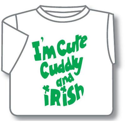 Kids T-Shirts: Kids T-Shirts: Cute Cuddly & Irish Toddler T-Shirt