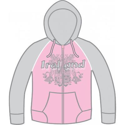 Ladies Ireland Line Shadow Hooded Sweatshirt