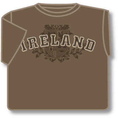 Brown Ireland 4 Provinces T-Shirt