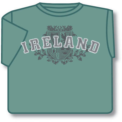 Green Ireland 4 Provinces T-Shirt
