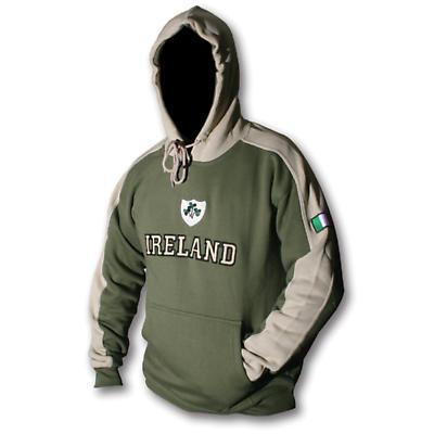 Ireland Shamrock Shield Hooded Jacket