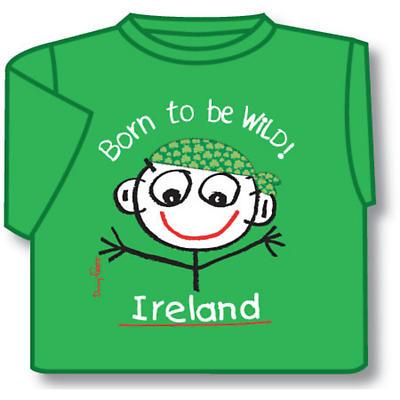 Kids T-Shirts: Kids T-Shirts: Born to be Wild Kids T-Shirt Green