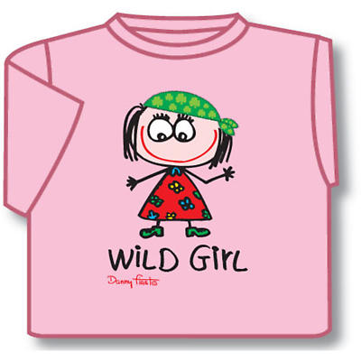 Kids Wild Girl Irish T-Shirt
