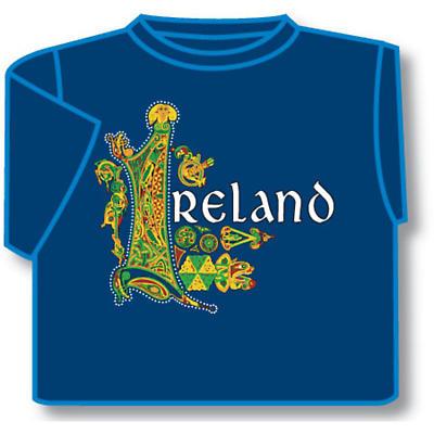 Kids T-Shirts: Kids T-Shirts: Celtic Ireland Kids T-Shirt Blue