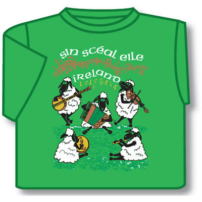 Kids T-Shirts: Kids T-Shirts: Sin Sceal Eile Kids T-Shirt Green