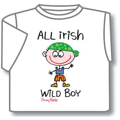 Kids T-Shirts: Kids T-Shirts: All Irish Wild Boy Kids T-Shirt