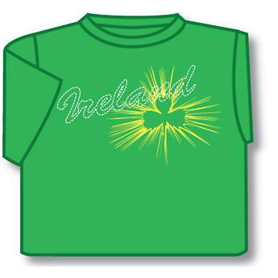 Kids T-Shirts: Kids T-Shirts: Kids Green Ireland T-Shirt