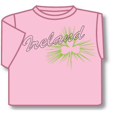Kids T-Shirts: Kids T-Shirts: Kids Pink Ireland T-Shirt