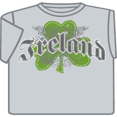 Irish T-Shirt - Ireland Shamrock Crest