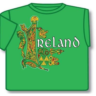 Irish T-Shirt - Celtic Ireland (Green)