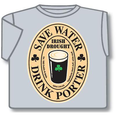 Save Water Drink Porter Ireland T-Shirt