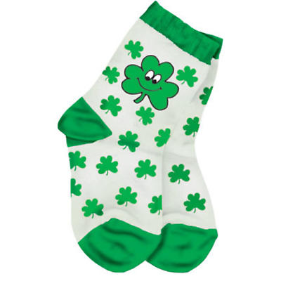Kids Shamrock Socks
