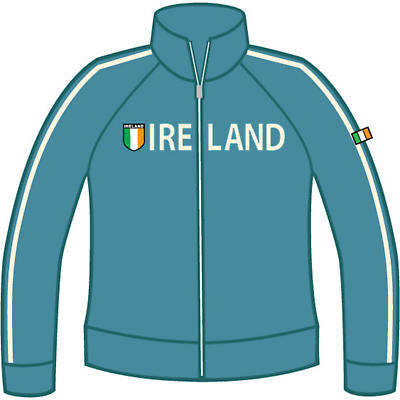 Ladies Ireland Shield Jacket - Blue