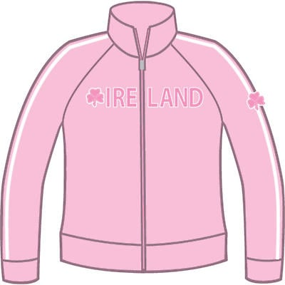 Ladies Shamrock Ireland Jacket - Pink