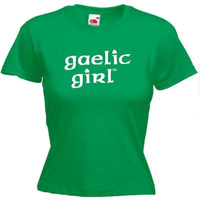 Irish T-Shirt - Gaelic Girl