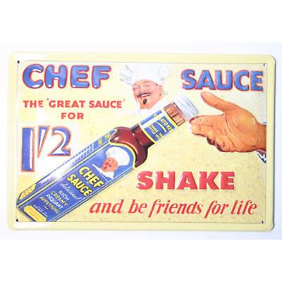Chef's Sauce Pub Sign
