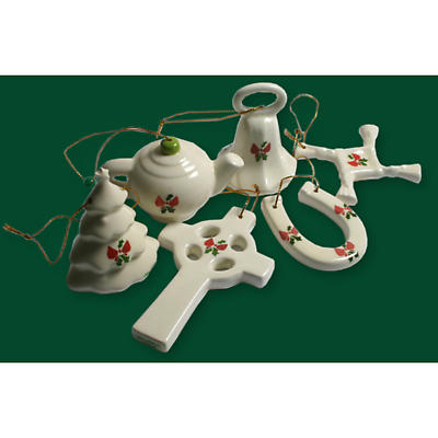 Irish Christmas 6 Ornament Set 2