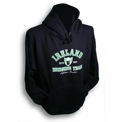 Irish Sweatshirt - Ireland Drinking Team Hooded Sweatshirt
