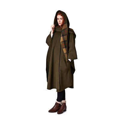Irish Pure New Wool Cape
