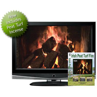 Irish Peat Turf Fire DVD