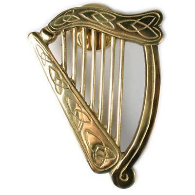 Large Harp DoorKnocker