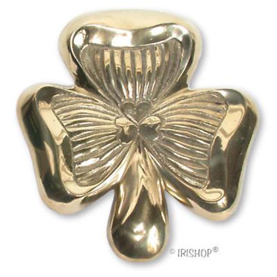 Shamrock Brass Doorknocker