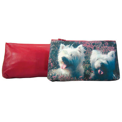 Leather Cosmetic Bag - Terriers