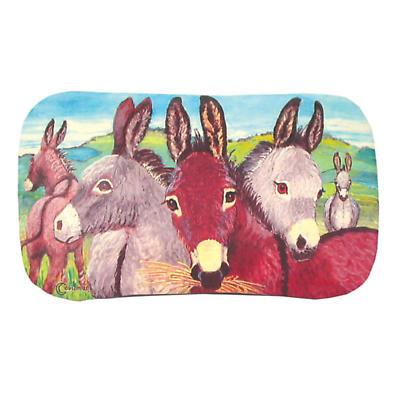 Leather Irish Glasses Case with Donkey Image