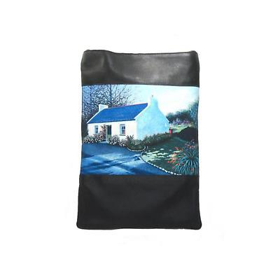 Leather Shoulder Bag - Irish Cottage