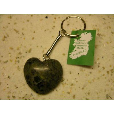 Special Order - Connemara Marble Heart Keyring