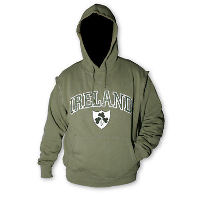 Retro Style Ireland Hooded Jacket