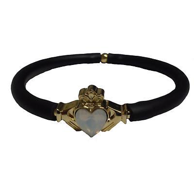 Irish Bracelet - Claddagh Opal Pop-It Bracelet